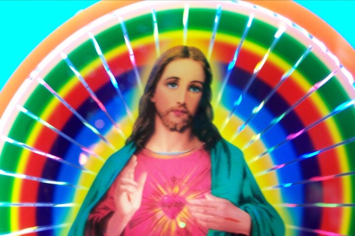 Rainbow Jesus